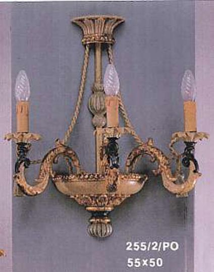 3-Light Rope Sconce