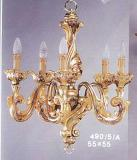 6-16 - Acanthus 5-Light Chandelier