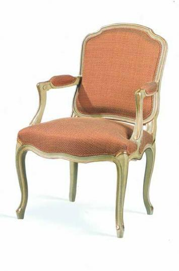 Louis XV open armchair (dome seat)