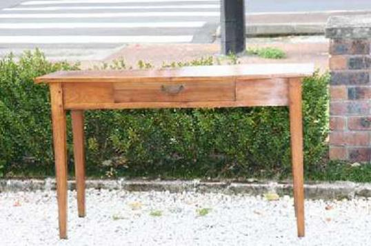 72-32 - Long Cherry Side Table