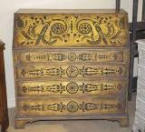 72-66 - English Painted Bureau