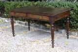 72-86 - French Library Table/Bureau-plat