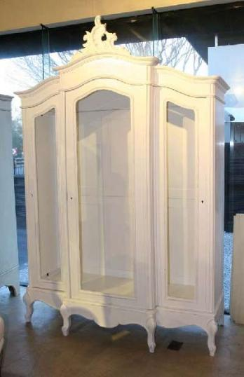 72-98 - A Three-door French 19th Century Armoire