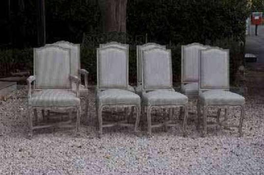 74-86 - A Set of new Louis XIV Dining Chairs