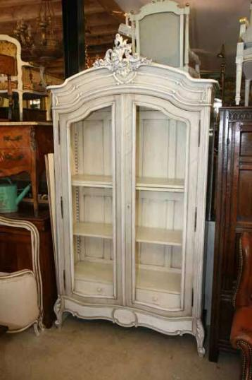 73-30 - French Painted Armoire