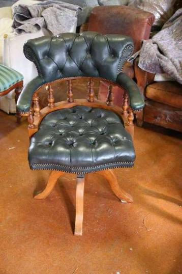 85-29 - Leather Desk Chair