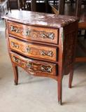 75-11 - Small French Marble-topped Commode