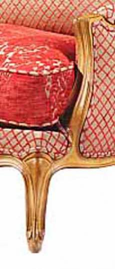 Louis XV Closed Armchair