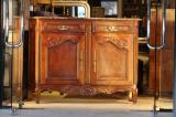 75-15 - Marble-topped Dresser/Buffet
