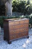 74-33 - George II Oak Chest of Drawers