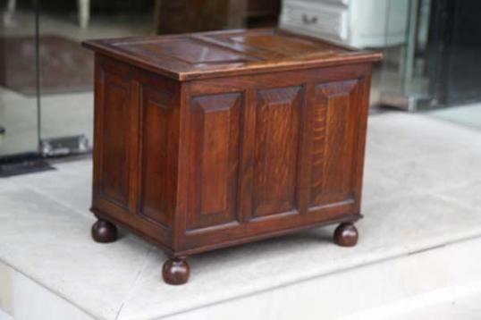 74-36 - Small Panelled Box (coffer)