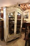 75-97 - Painted French Armoire