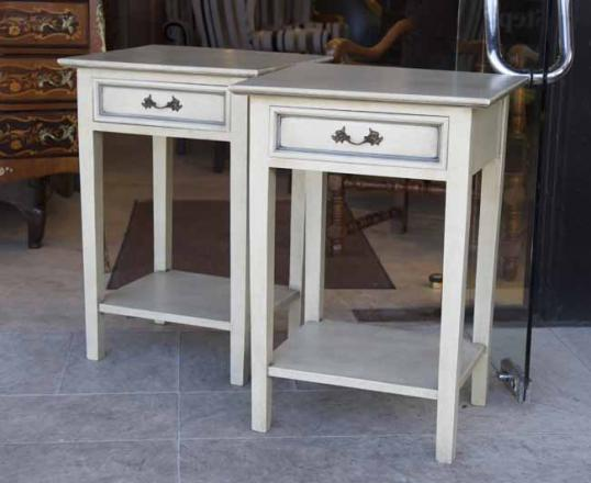 Painted Bedside Cabinets