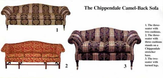 Chippendale-Style Couch