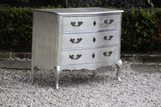 75-99 - Silver French Commode