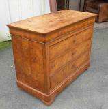 76-02 - French Walnut Commode