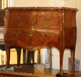 77-13 - French Marble Topped Commode