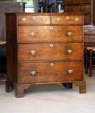 77-17 - English Oak Chest of Drawers