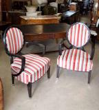 77-23 - French Spoonback Armchair