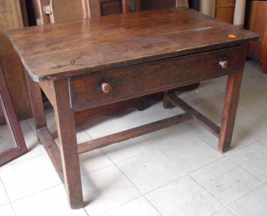 French One Drawer Side Table