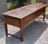 77-94 - Large French Cherry Side Table