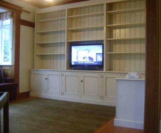10-45 - Bookcase and Television Unit