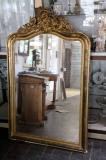 78-37 - Crested Louis Philippe Mirror