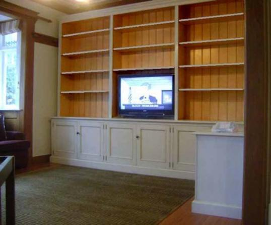 10-47 - Paint and Polish Finish Bookcases