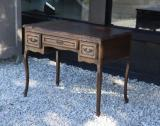 78-55 - Small French Oak Table with Three Drawers