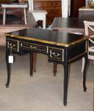 78-78 - Black Painted French Louis XIV Table