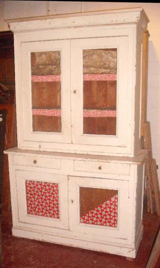 79-13 - Painted French Bookcase
