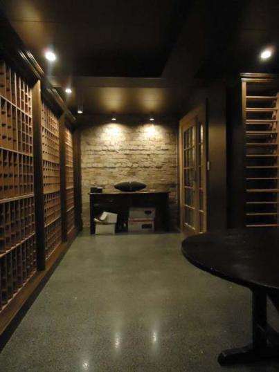 Atmospheric Wine Cellar
