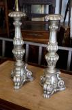 79-24 - Pair of Silver Candlesticks
