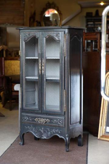 79-27 - French Painted Cabinet