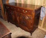 79-50 - French Oak Dresser Base