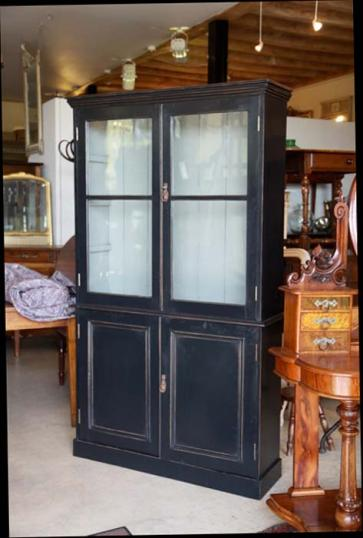 79-53 - Black Painted Book Case