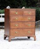 79-96 - Georgian Oak Chest of Drawers