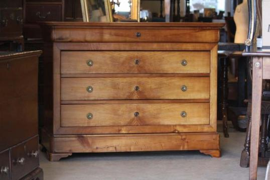 80-23 - French Cherrywood Commode