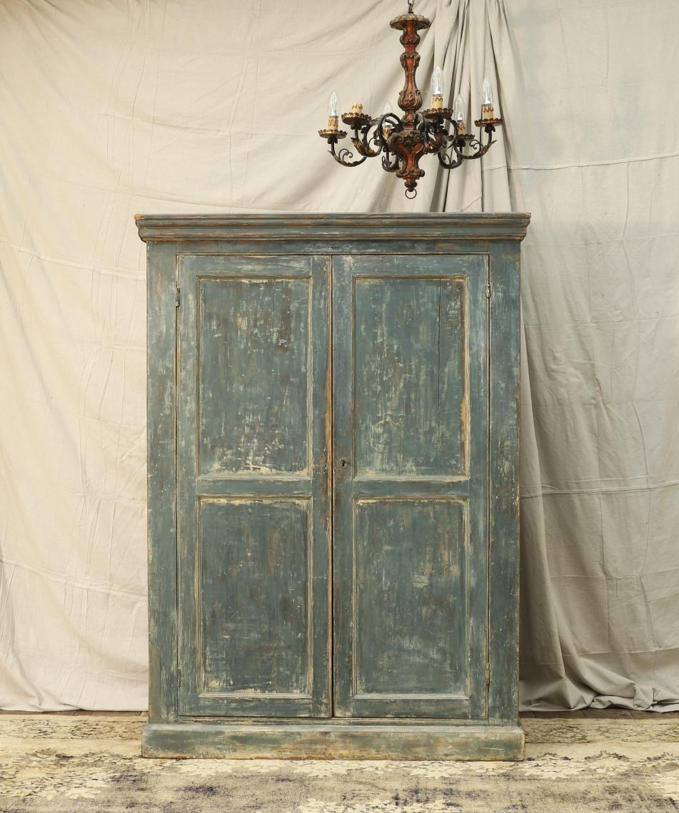 110-15 - French Painted Cupboard