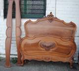 80-95 - Antique French Louis XIV Bed