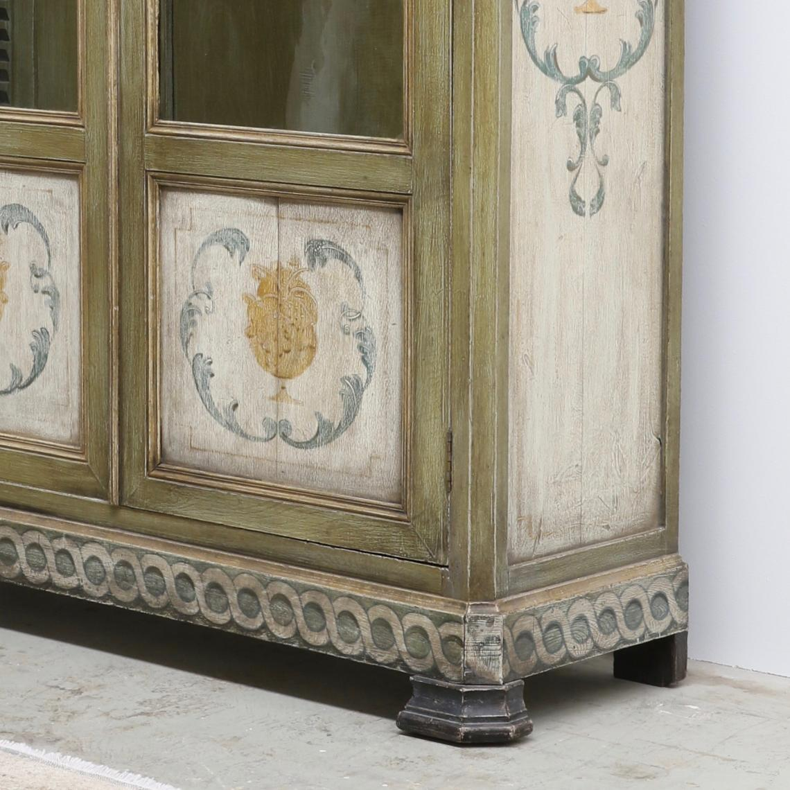 Painted Louis Philippe Cupboard