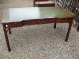 81-31 - English Chippendale Mahogany Desk