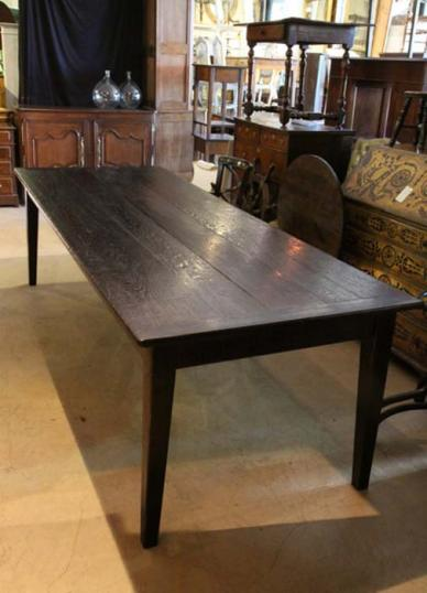 Large French Refectory Dining Table