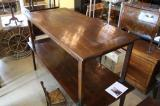 81-52 - French Chestnut Dining Table