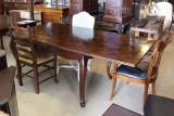 81-54 - Cherry Parquet Table