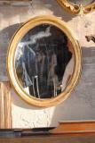 81-68 - French Oval 19th Century Mirror