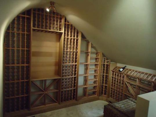Barrel Vaulted Wine Cellar