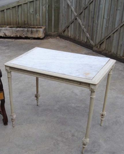 Louis XV Marble Topped Table