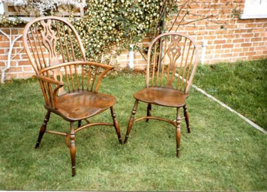 Splat Backed Windsor Chairs