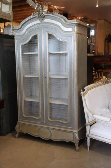 82-37 - Wonderful Painted Armoire